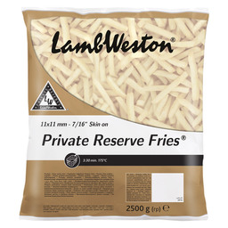 FRITES PRIVATE RESERVE 11X11MM SKIN-ON