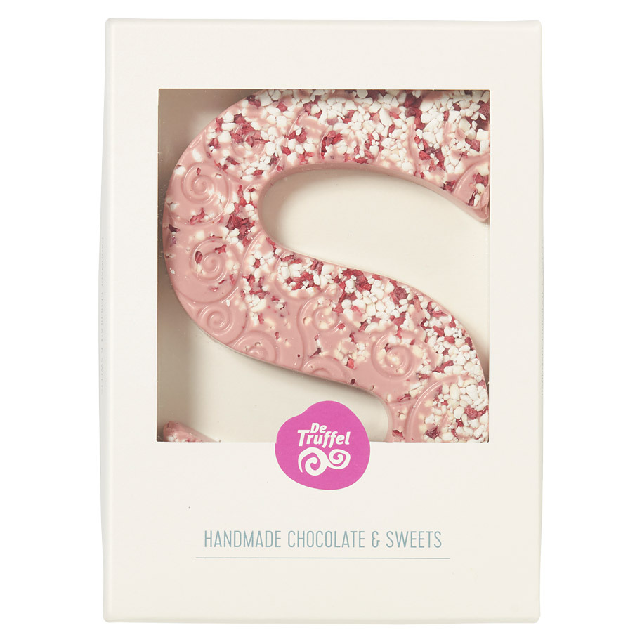 LUXE CHOCOLADELETTER S RUBY MERENGUE FRA