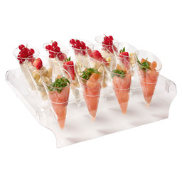 CONE DISPLAY INCL.  5 DISPLAYS+60 CONES