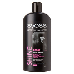 SYOSS SHAMPOO 500ML SHINE *OPRUIMPRIJS*
