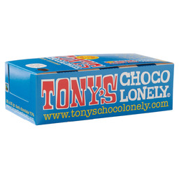 TONY'S CHOCOLONELY PURE CHOCOLADE 50GR