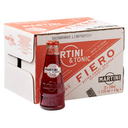 MARTINI & TONIC FIERO 12 x 15CL