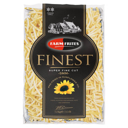 FRITES FINEST SUPER FINE 5X5MM