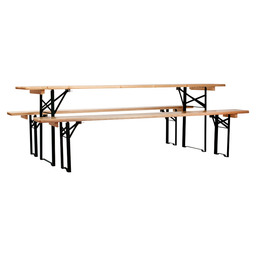 BEER BENCHSET 220X50 BANK 220X25