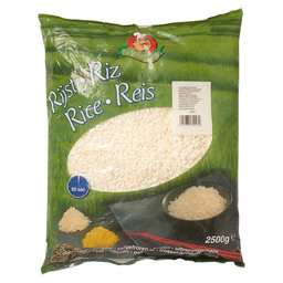 RICE WHITE COOKED