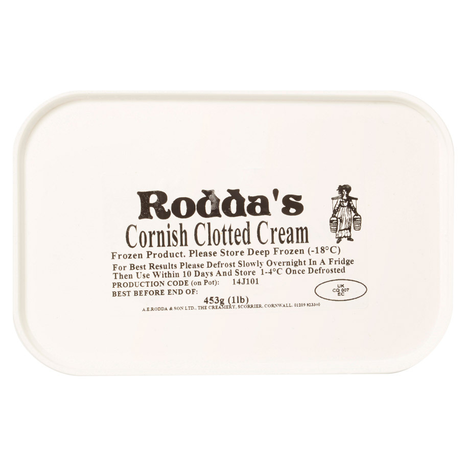 CLOTTED CREAM RODDAS THE CREAMERY