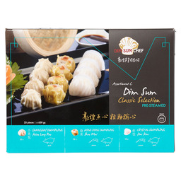 DIM SUM ASSORTIMENT MIX C STOMEN 18GR
