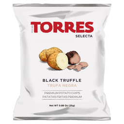 CHIPS BLACK TRUFFEL 25G