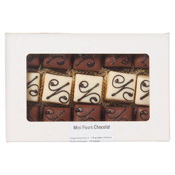 MINI FOURS CHOCOLAT 15 PIECES