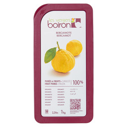 FROZEN FRUIT PUREE BERGAMOTTE 100%