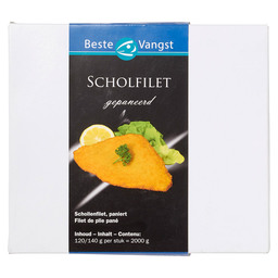 SCHOLFILET 120/140  GEPANEERD DV