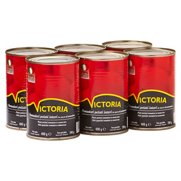 TOMATOES PEELED 425ML VICTORIA