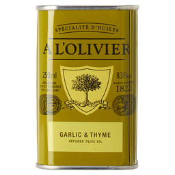 OLIVE OIL GARLIC & THYME