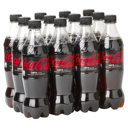 COCA COLA ZERO 50CL PET FLES