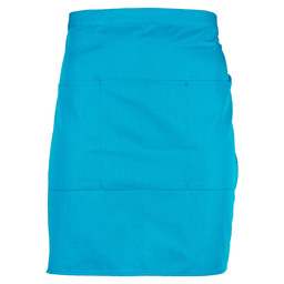 APRON 3 POCKET 100X50 AQUA