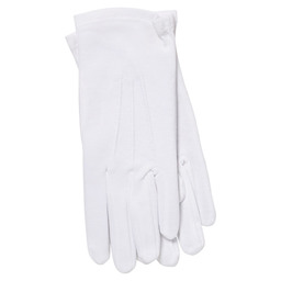 SERVING GLOVES WHITE SZ M