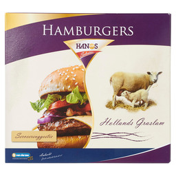 HAMBURGER 10X180GR HOLLANDS GRASLAM