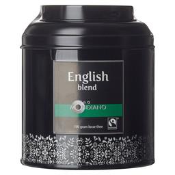 LOOSE TEA TIN ENGLISH BLEND ORGANIC FAIR
