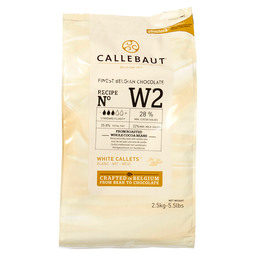 CALLETS CHOCOLATE WHITE 28%