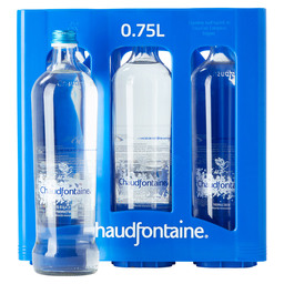 CHAUDFONTAINE STILL 75CL GLAS