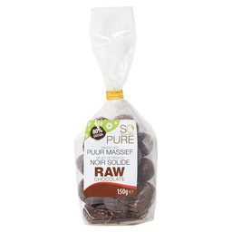 RAW CHOCOLATE EITJES PUUR MASSIEF