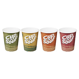 CUP A SOUP PAPER CUPS