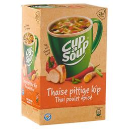 KIPPENSOEP THAIS  CUP A SOUP CATERING