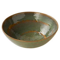 SALAD BOWL PURE 28,5X10,5CM SEA GREEN