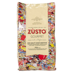 ZUSTO SUGARFREE 75% LESS CALORIES