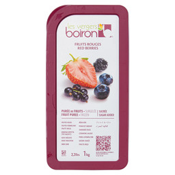 FROZEN FRUIT PUREE SUGARED RED BERRIES 1