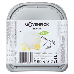 ICE LEMON SORBET MOVENPICK
