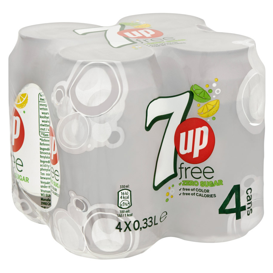 SEVEN-UP FREE 33CL