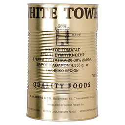 TOMATO PURÉE WHITE TOWER