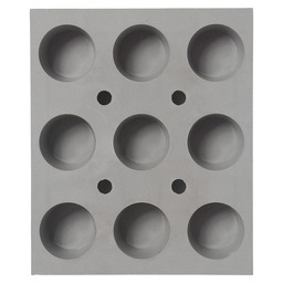 SILICONES BAKING SHEET 9 MINI MUFFINS
