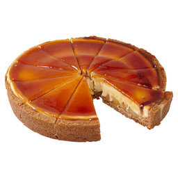 CHEESECAKE BAKED PEAR AND CARAMEL 12P