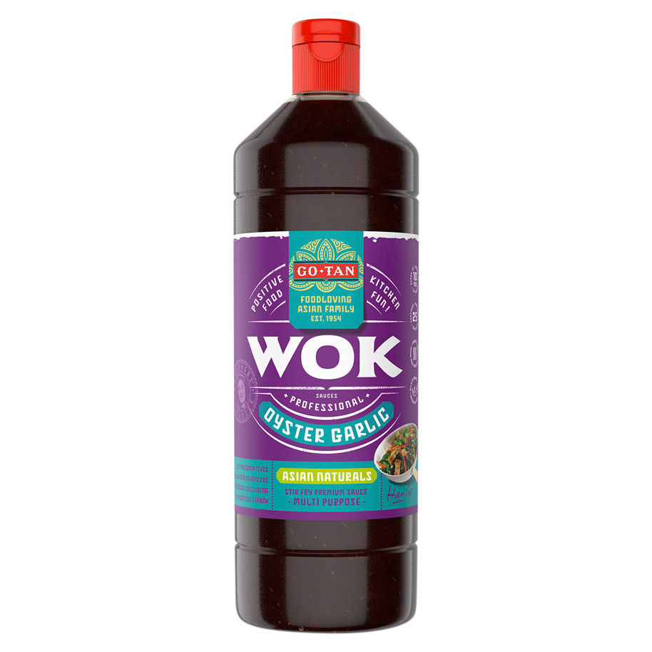 WOKSAUS OYSTER GARLIC ASIAN NATURALS