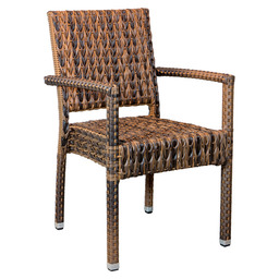 MEZZA CHAIR BROWN - TWISTED WEAVING