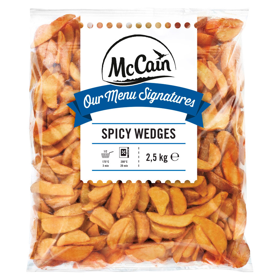 SPICY WEDGES/POTATOES