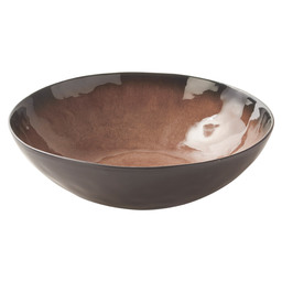 BOWL 20X9.5 CM PURE BROWN FLAME