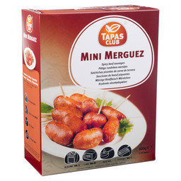 MINI MERGUEZ WORSTJES TAPAS CLUB CA.60