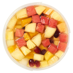 FRUIT SALAD IN LIQUID SWEET GARDEN