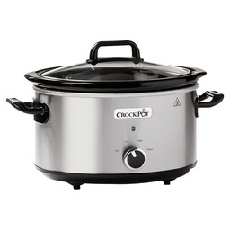 CROCK-POT SLOWCOOKER RVS 3,5L CR025