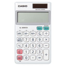 ZAKREKENMACHINE CASIO SL-305ECO