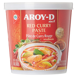 RODE CURRY PASTA