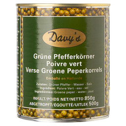 PEPPERS GREEN DAVY'S 500/850 GR