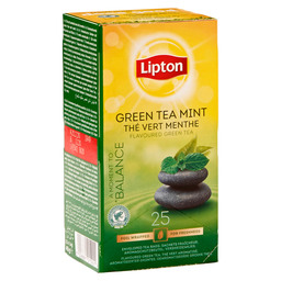 TEE GREEN TEA MINT LIPTON PROFESSIONAL