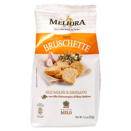 MINI BRUSCHETTE GARL.OREGANO MELIORA