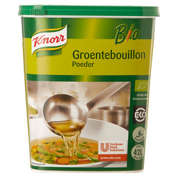 VEGETABLE BOUILLON BIO KNORR 42L