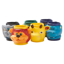 KIDDIES MUG WILD ANIMALS