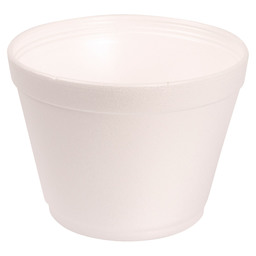 POT EN MOUSSE EPS 473ML BLANC